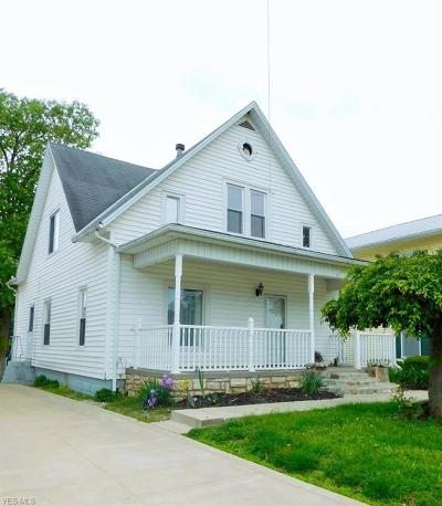Licking County Single Family Home Active Under Contract: 621 N Main Street