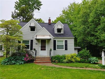 North Olmsted Single Family Home For Sale: 24330 Gessner Rd