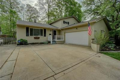 Solon Single Family Home Contingent: 6731 Forest Glen Ave