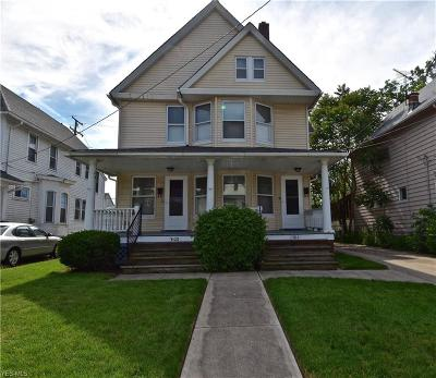 Lakewood Multi Family Home For Sale: 1506 Wyandotte Ave