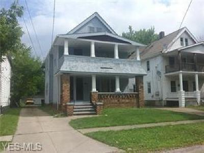 Cleveland Multi Family Home Active Under Contract: 10712 Bryant Avenue