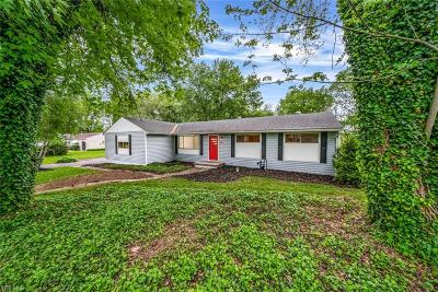 Single Family Home Active Under Contract: 10744 Wilma Avenue