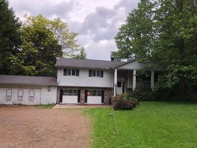 Chardon Single Family Home Active Under Contract: 10260 Mulberry Road