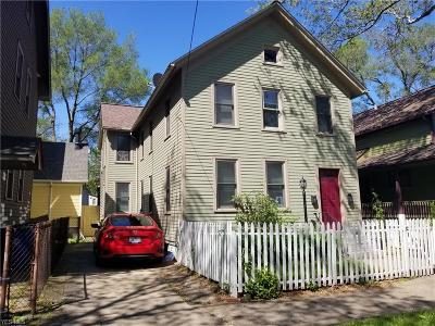 Cleveland Multi Family Home Active Under Contract: 1740 Randall Road