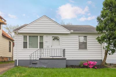Cleveland Single Family Home For Sale: 8106 Jeffries Ave