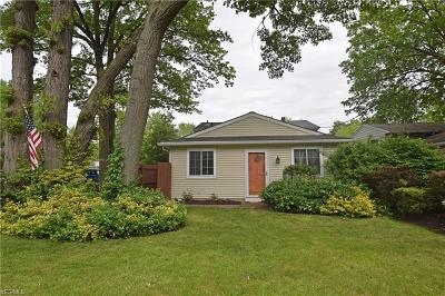 North Ridgeville Single Family Home For Sale: 5401 Main Ave