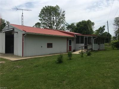Muskingum County Single Family Home For Sale: 4490 Workman Rd