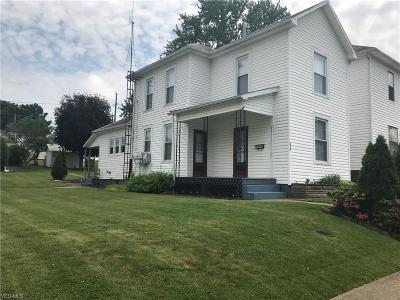 Zanesville Single Family Home For Sale: 224 Schaum Avenue