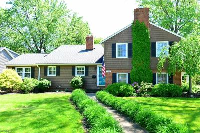 Rocky River Single Family Home For Sale: 1289 Eriewood Drive