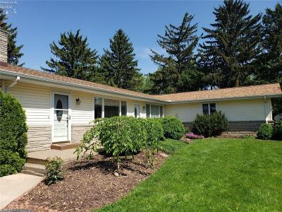 Huron County Single Family Home For Sale: 1561 State Route 61 Highway