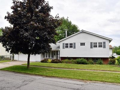 Elyria Single Family Home Active Under Contract: 828 Thornwood Street