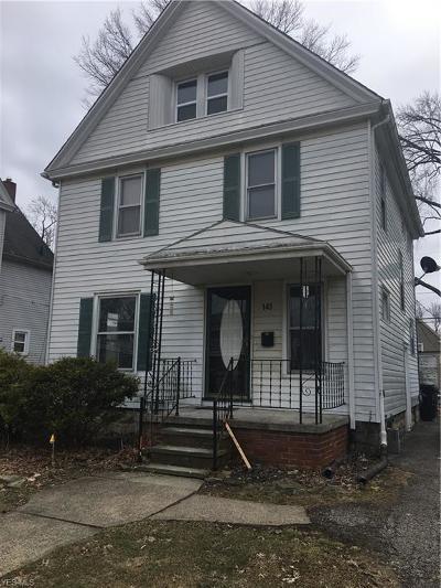 Elyria Single Family Home For Sale: 145 Harvard Avenue