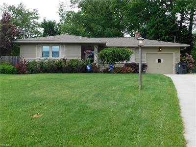 Austintown Single Family Home For Sale: 2234 Breezewood Drive