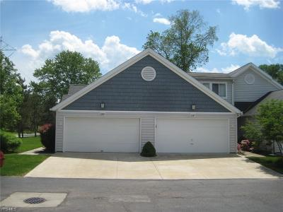 Sagamore Hills Condo/Townhouse Active Under Contract: 1249 Canyon View Road #16