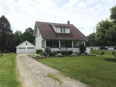 Columbiana County Single Family Home For Sale: 16651 State Route 267