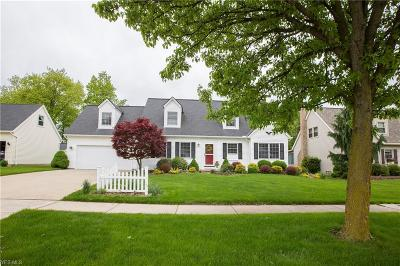 Cleveland Single Family Home Active Under Contract: 7010 Ravenswood Drive