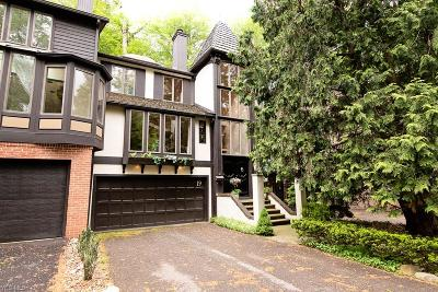 Rocky River Condo/Townhouse For Sale: 19 Hidden #19