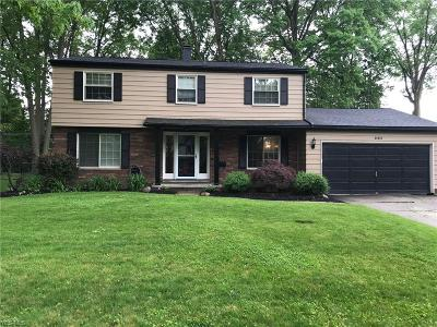 Olmsted Falls Single Family Home Active Under Contract: 26457 Locust Drive