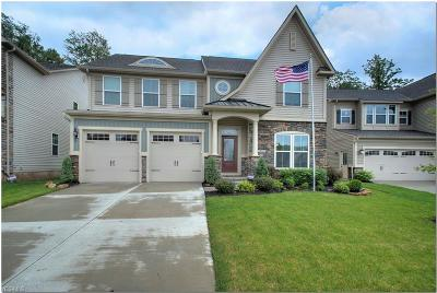 Twinsburg Single Family Home Active Under Contract: 2717 Hunters Ridge