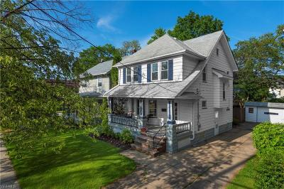 Lakewood Single Family Home Active Under Contract: 1361 Webb Road
