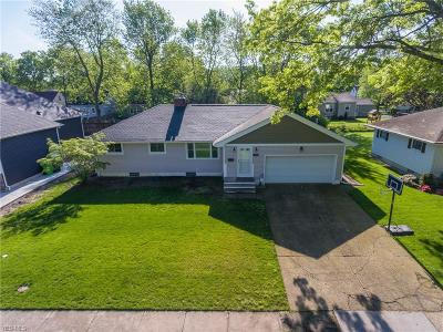 Avon Lake Single Family Home Active Under Contract: 125 Englewood Drive