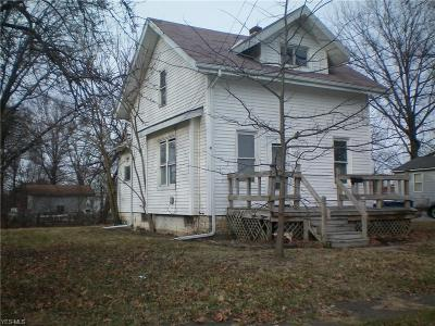 Lorain Single Family Home For Sale: 1211 Factory Street
