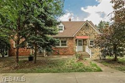 Macedonia Multi Family Home Active Under Contract: 9740 N Bedford Road