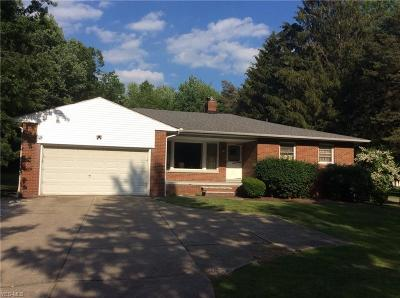 Willoughby Hills Single Family Home Active Under Contract: 2909 Bishop Road