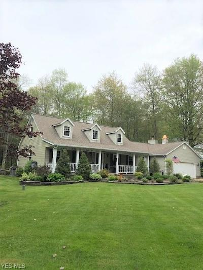 Chagrin Falls Single Family Home Active Under Contract: 10900 Stafford Road