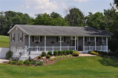 Zanesville Single Family Home For Sale: 2015 Arch Hill Road