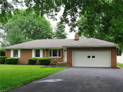 Elyria Single Family Home Active Under Contract: 39357 Chestnut Ridge Road