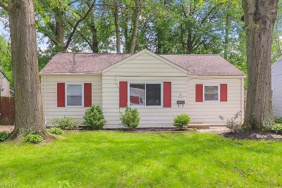 North Olmsted Single Family Home For Sale: 5869 Porter Road