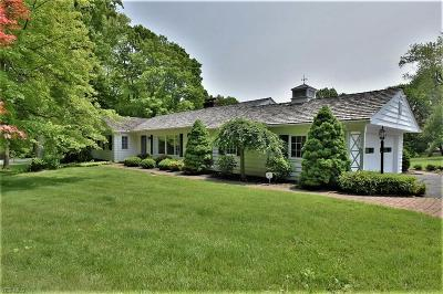 Solon Single Family Home Active Under Contract: 34150 Lakeview Drive