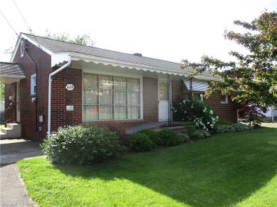 Elyria Single Family Home Active Under Contract: 6124 W River Road