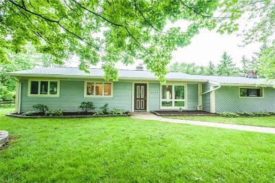 Macedonia Single Family Home For Sale: 8338 Melody Lane
