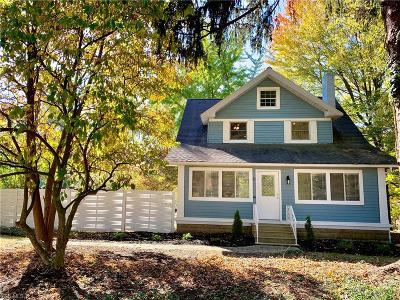 Broadview Heights Single Family Home For Sale: 2136 E Sprague Road
