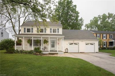 Rocky River Single Family Home Active Under Contract: 20207 Kramer Drive