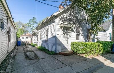 Ohio City Single Family Home Active Under Contract: 2182 W 31 Street