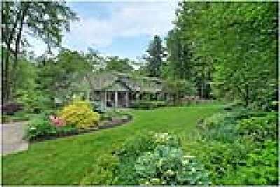 Chagrin Falls Single Family Home For Sale: 7700 Clarion Drive