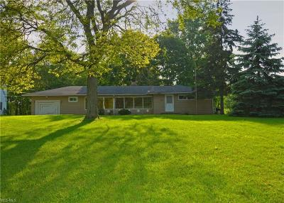 Broadview Heights Single Family Home Active Under Contract: 8204 Wyatt Road