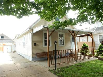 Cleveland Single Family Home Active Under Contract: 1235 W 69th Street
