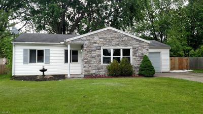 Lorain Single Family Home Active Under Contract: 6201 Dorwood Drive