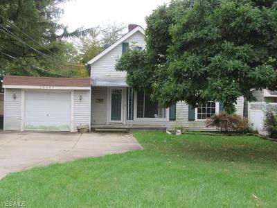 Rocky River Single Family Home For Sale: 20609 Westway Drive