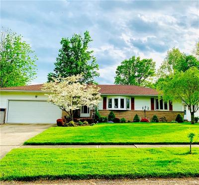 Elyria Single Family Home Active Under Contract: 447 Stafford Drive