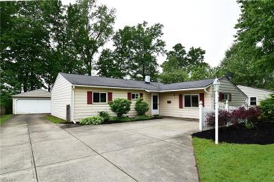 North Ridgeville Single Family Home Active Under Contract: 34143 W Point Drive