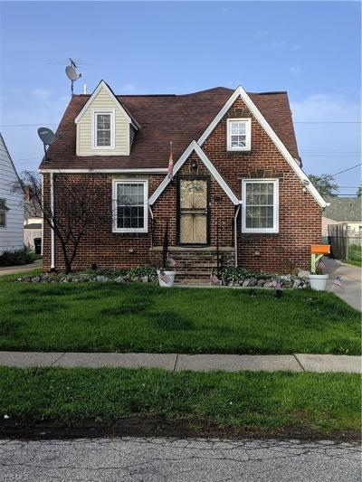 Cleveland Single Family Home Active Under Contract: 4207 W 59th Street