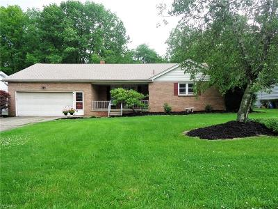 Boardman OH Single Family Home Active Under Contract: $139,000