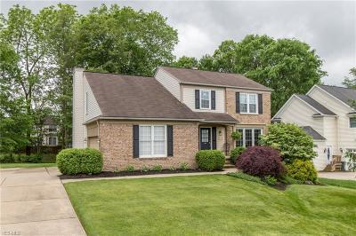 Twinsburg Single Family Home Active Under Contract: 2140 White Marsh Drive