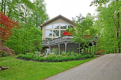 Chagrin Falls Single Family Home Active Under Contract: 17117 Catsden Road