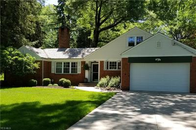 Brecksville Single Family Home Active Under Contract: 10906 Fitzwater Road